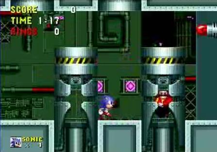 The Super Nintendo Entertainment System Sonic