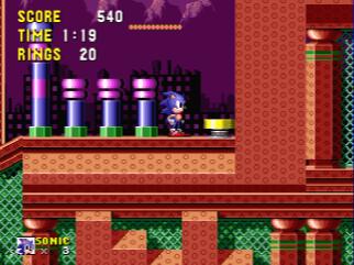 Sonic Spring YardZone